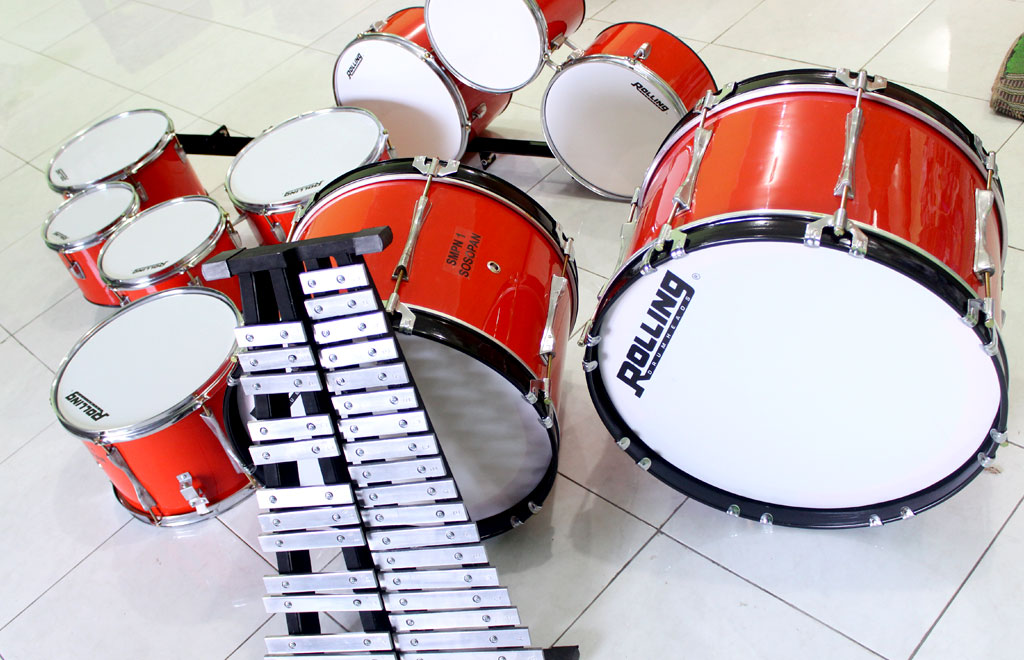 Paket alat drumband murah