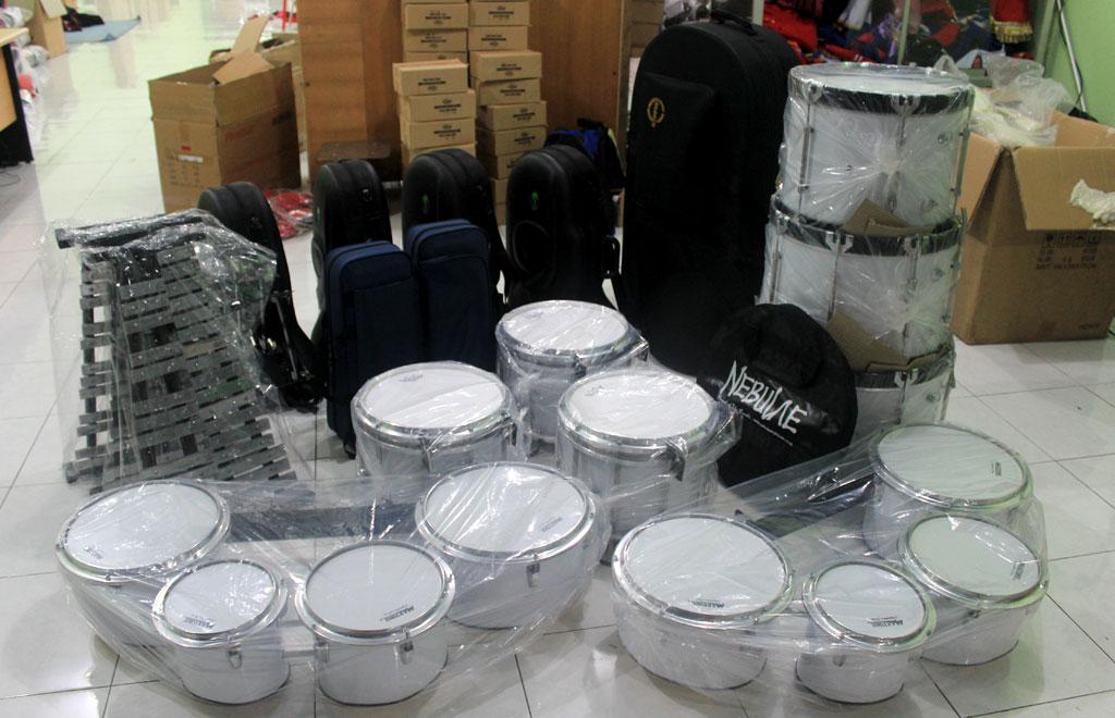 paket alat marching band